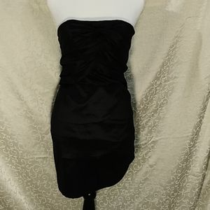 Romeo & Juliet Couture strapless dress size small